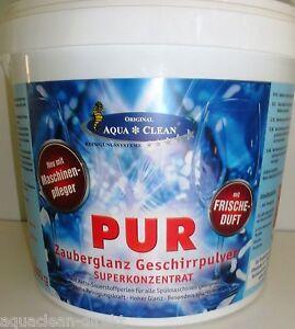 Aqua clean zauberpulver