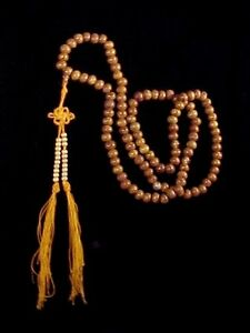 Bodhi-Seed-amp-Agate-Buddhist-Mala-108-Bead-Tibetan-Meditation-Prayer-Necklace-A