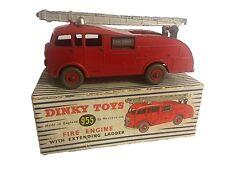 DINKY 555 camion dei pompieri con scala estensibile