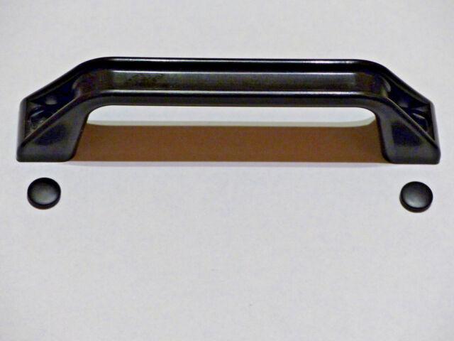 Rangiergriff Anziehgriff schwarz 40x170 mm *NEU* Wohnwagen Wohnmobil Anhänger