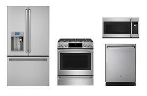 Details about GE Café 4 Piece Kitchen Package - Value Appliance Package  $500 Rebate