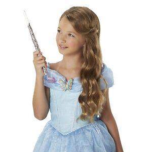 Disney Princess Cinderella Fairy Godmother Enchanted Lights Wand & Combs Set Nouveau