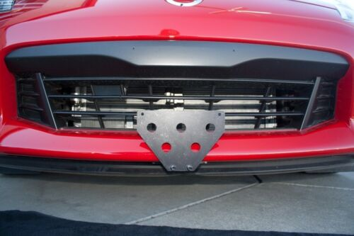 Quick Release Front License Plate Bracket For Nissan 370z 2016 2017 NEW