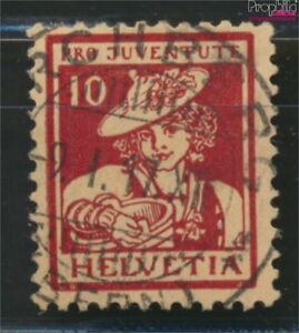 Schweiz-132-geprueft-gestempelt-1916-Pro-Juventute-9036600