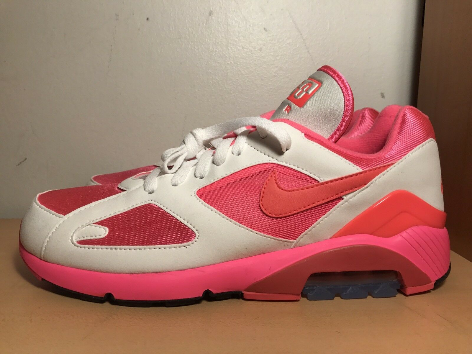 Nike x COMME des GARCONS Air Max 180 Weiß / Laser Pink AO4641-600