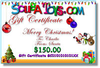 Merry Christmas Gift Certificates