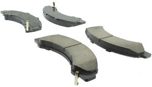 Disc Brake Pad Set-Fleet Performance Pads with hardware Front Centric 306.09760