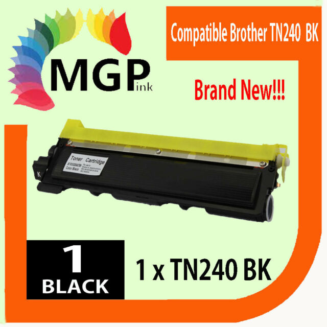1x Compatible TN240BK Black Toner for Brother DCP-9010CN HL-3070CW TN240 Printer