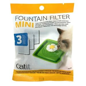 Catit-2-0-Senses-Cartridge-Filters-for-Mini-Flower-Water-Fountain-3-Pack