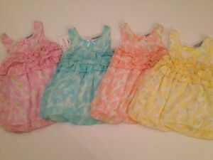 Kyle /& Deena Baby Girl Summer Outfit Set Size 3 6 9 Months Yellow Eyelet Dainty