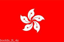 ***HONG KONG VINYL FLAG DECAL / STICKER***