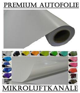 24,87Euro//qm weiß glanz Car Wrapping Folie 50cm X 152cm Super glossy white