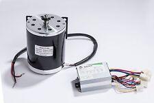 500 W 36V motor 1020 T8F sprocket kit w base control box f scooter gokart DIY