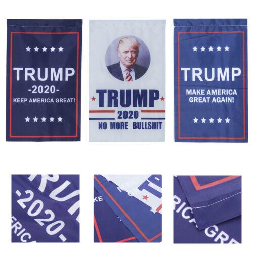 Donald Trump Garden Flag Keep Make America Great Again For 2020 President HS88