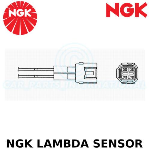 Oxygen O2 - 4 Wires NGK Lambda Sensor Part No: OZA591-WB1 Stk No: 0010
