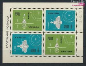 Polen-Block31II-kompl-Ausg-postfrisch-1963-Eroberung-des-Weltraums-9063270