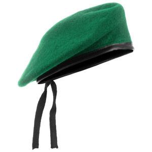 Military Style Tactical Classic Army Beret Mens Hat Uniform Cap Wool ... a20048b8f5a