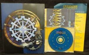 Civilization-Call-to-Power-WIN-95-98-NT-CD-Rom-Game-Manual-Mint-Disc-1-Owner
