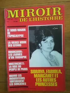 MIROIR-DE-L-039-HISTOIRE-N-296-1977-BOURGUIBA-MISTINGUETTE-SORAYA-FABIOLA-MARGARET