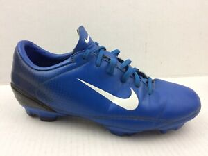Nike Boys 4 Youth Soccer Cleats Blue