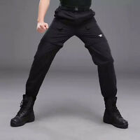 Mens Fast Drying Pants Hiking Long Pants Two-in-one Removable Shorts Trousers