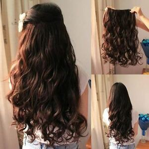 Original clip in curlywavy hair extensionssynthetic 1 pcs clip image is loading original clip in curly wavy hair extensions synthetic pmusecretfo Images