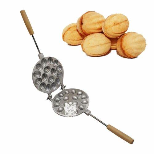 Noyer-en forme de Cookie ORESHKI Baking Mold Maker 16 Écrous oreshnitsa