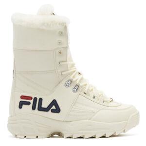 Fila Disruptor Womens White Boots Lace