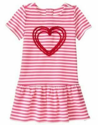 and 5T 3T 4T 2T NWT Gymboree Cozy Valentine cupcake dress SZ  18-24m.