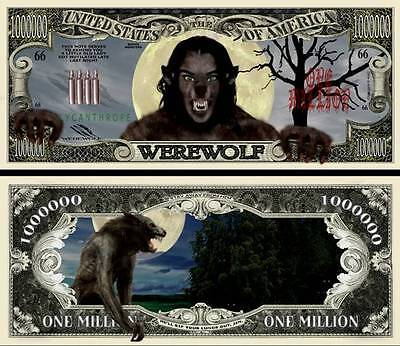 The Wolfman Novelty Bill with Semi Rigid protector
