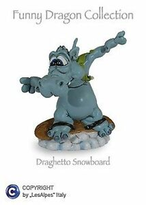 Figurine-Dragons-Les-Alpes-Bearded-Dragon-Snowboard-Resin-014-92489-Lucky-Charm