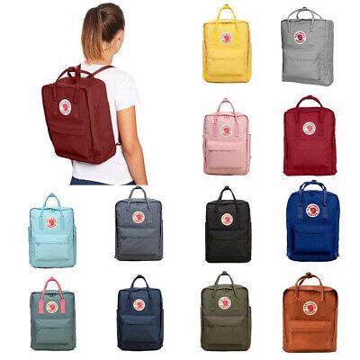 new style 128f3 6fb49 7L/16L/20L Waterproof Backpack Fjallraven Kanken Travel Sport Handbag  Rucksack | eBay