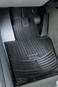 BMW OEM Black Rubber Floor Mats 20002006 E46 3 Series Sedan Wgn