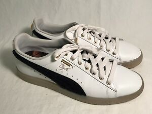outlet store 11c0f 9ba74 Details about Puma Clyde David T Howard High School Leather Athletic Shoes  Men 11, EUC