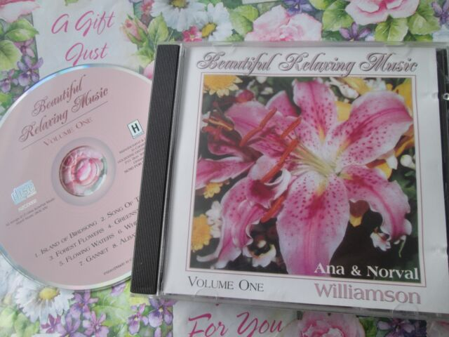 Ana & Norval Williamson Relaxing Music Vol 1 Nzcd 002 CD Album