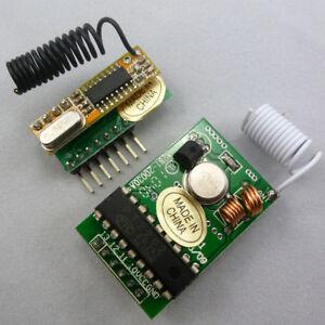 315MHZ PT2262 Encoder Transmit & Super Het Learning Receiver Decoder M4/ T4/ L4