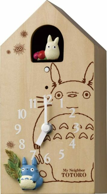 My Neighbor Totoro Karakuri character every wall clocks Totoro JP