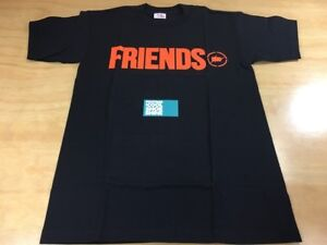 da35b3c90 VLONE x fragment design FRIENDS Short Sleeve Tee Shirt Sz Medium ...