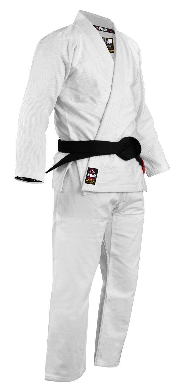 Fuji Sports Sports Sports Herren Leichtgewicht Jiu-Jitsu Gi - Weiß c33e5b