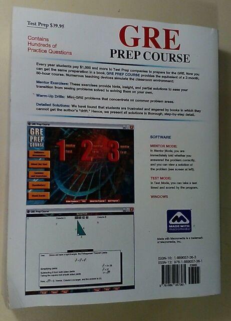Novas Gre Prep Course Gre Prep Course By Jeff Kolby 2016 Cd Rom
