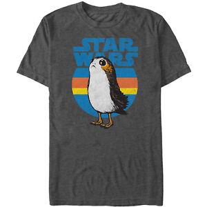 Star-Wars-The-Last-Jedi-Retro-Porg-Mens-Graphic-T-Shirt