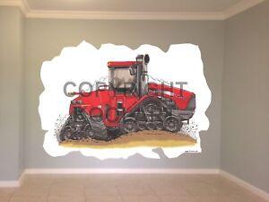 Huge-Koolart-Cartoon-Tractor-Case-Stx500-Wall-Sticker-Poster-Mural-2316