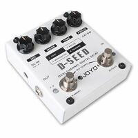 Joyo Audio D-seed Dual Channel Digital Delay Guitar Effects Pedal