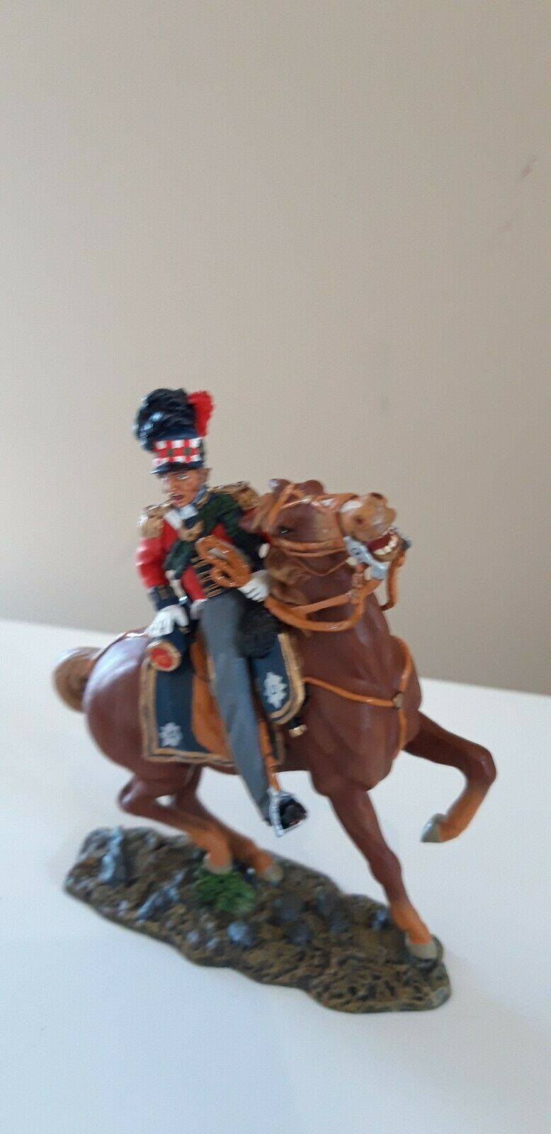 King King and country Waterloo Napoleonic British black watch boxed 1 30  na47