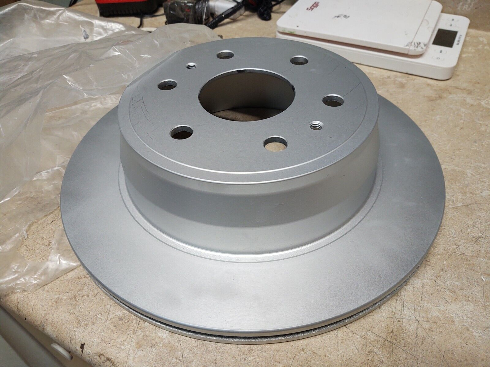 Frt Disc Brake Rotor  ACDelco Professional  18A1705