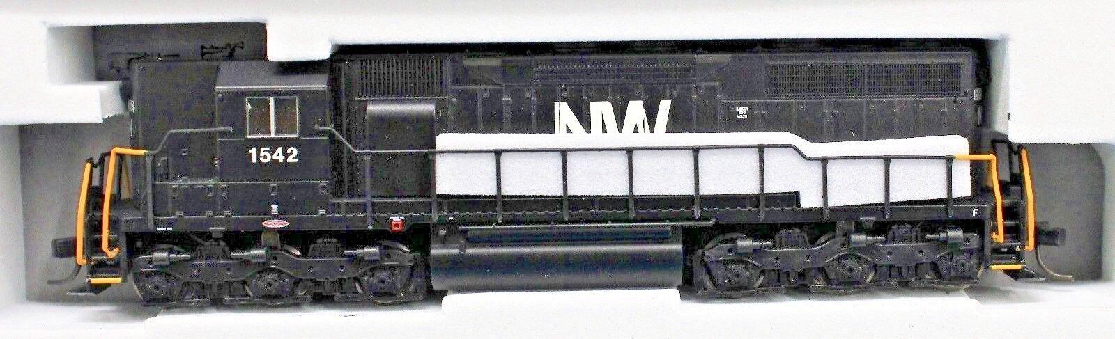 garantizado N-Atlas Plata 40 003 003 003 725 Norfolk & Western Locomotora SD35   1542 Dcc Listo  almacén al por mayor