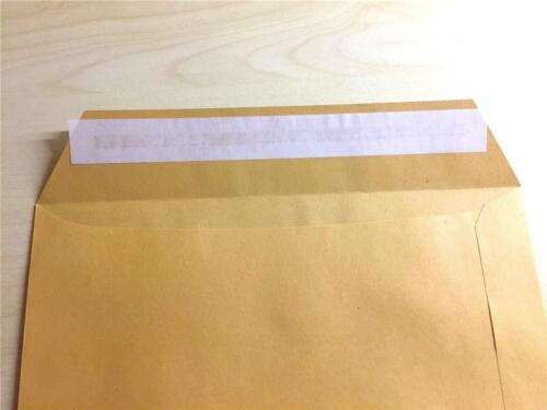 50 x Versandtaschen C4 braun Umschlag für A4 *1*  Haftklebung haftklebend