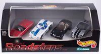 Hot Wheels Super Roadsters 4 Car Set 1999 Ames Exclusive