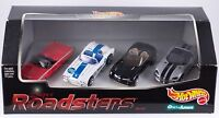 Hot Wheels Super Roadsters 4 Car Set 1999 Ames Exclusive