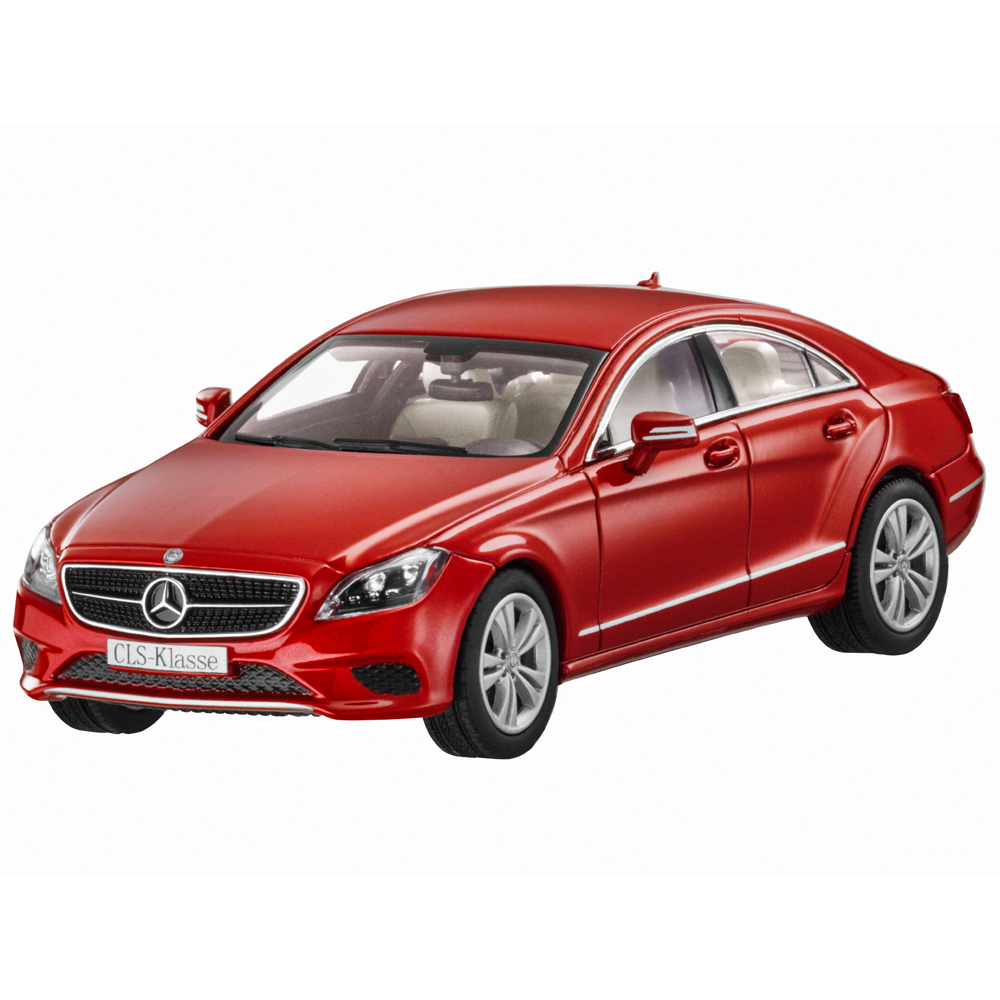 Mercedes-Benz Modellauto 1 43 PKW CLS C218 hyazinthrot B66961936  | Sehr gute Farbe